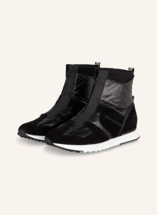 Högl Ranger Hightop-Sneaker Damen, Schwarz