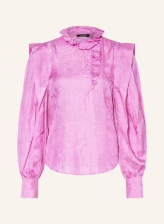 Isabel marant Chandra Seidenbluse Damen, Pink