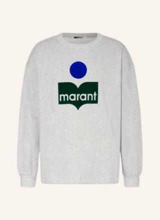 Isabel marant Menyiri Sweatshirt Herren, Grau