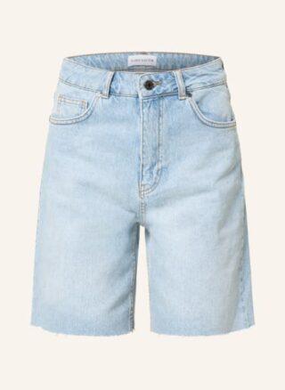 KARO KAUER Lulu Jeans-Shorts Damen, Blau