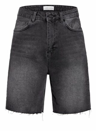 KARO KAUER Lulu Jeans-Shorts Damen, Grau
