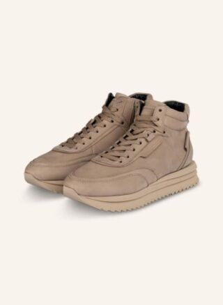 Kennel & Schmenger Jazz Hightop-Sneaker Damen, Beige