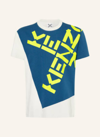 Kenzo Big X T-Shirt Herren, Blau