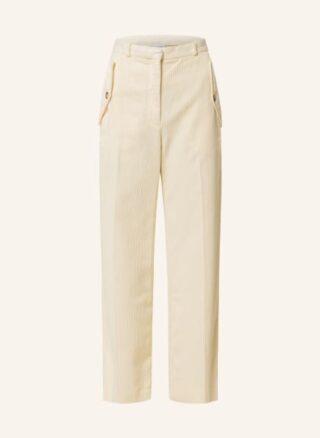 Kenzo Cord-Culotte Damen, Weiß