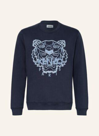 Kenzo Tiger Seasonal Sweatshirt Herren, Blau
