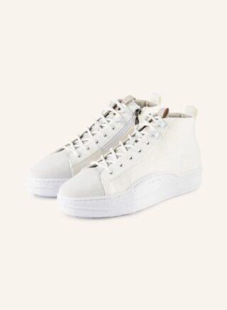 LEANDRO LOPES Nautilus Hightop-Sneaker Herren, Weiß
