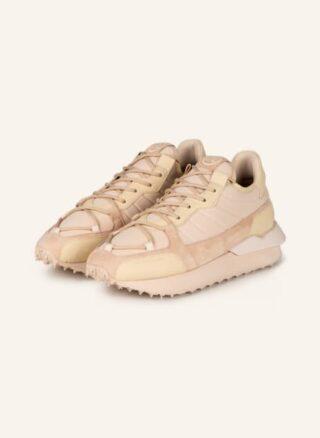 LEANDRO LOPES Pista Runner Sneaker Herren, Beige