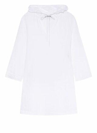 LIDEA Shibori Tunika Damen, Weiß