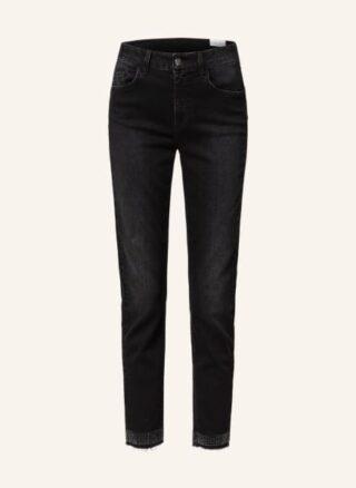 LIU JO Ideal 7/8 Skinny Jeans Damen, Schwarz