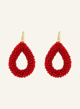 LOTT.gioielli Berry Ohrringe Damen, Rot