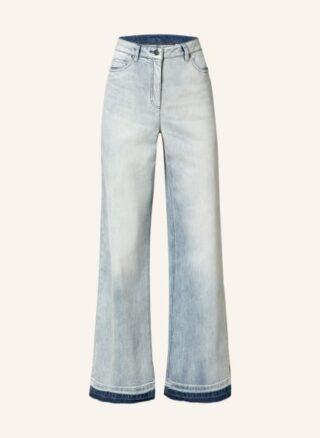 LUISA CERANO Flared Leg Jeans Damen, Blau