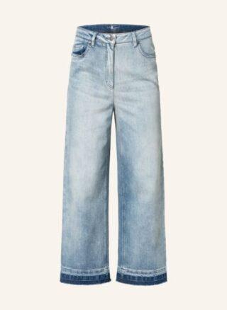 LUISA CERANO Jeans-Culotte Damen, Blau