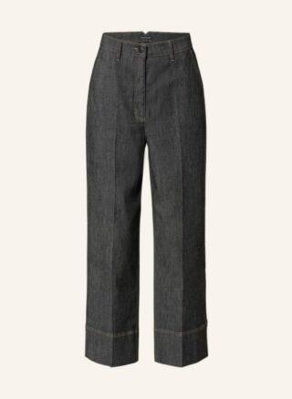 LUISA CERANO Jeans-Culotte Damen, Schwarz