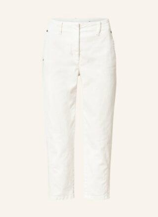 LUISA CERANO Straight Fit 7/8-Karottenjeans Damen, Weiß