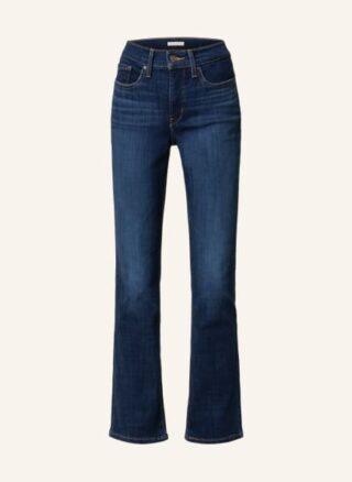 Levis 315 Bootcut Jeans Damen, Blau