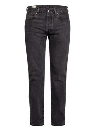 Levis 501 Original Straight Leg Jeans Herren, Grau