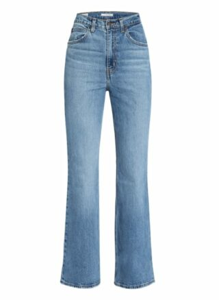Levis 70s High Flare Flared Leg Jeans Damen, Blau