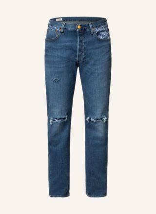 Levis Jeans 501 Straight Leg Jeans Herren, Blau