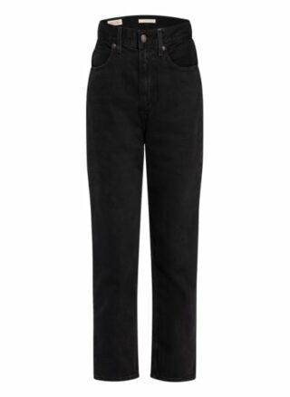 Levis Jeans 70s Straight Leg Jeans Damen, Schwarz
