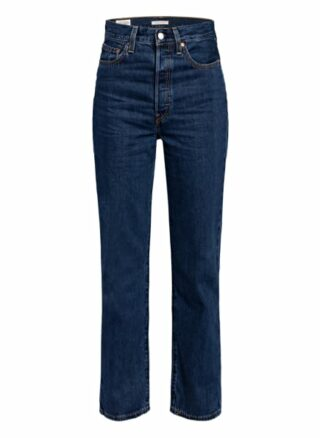 Levis Ribace Straight Straight Leg Jeans Damen, Blau