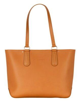 Longchamp Cavalcade Shopper Damen, Braun