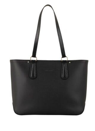 Longchamp Cavalcade Shopper Damen, Schwarz