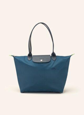 Longchamp Le Pliage L Shopper Damen, Blau