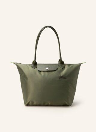 Longchamp Le Pliage L Shopper Damen, Grün