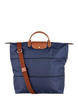 Longchamp Le Pliage Reisetasche Damen, Blau