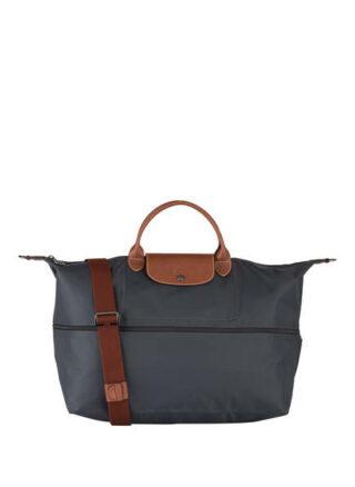 Longchamp Le Pliage Reisetasche Damen, Grau