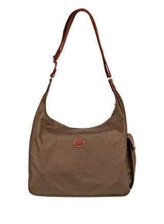 Longchamp Pliage Hobo-Bag Damen, Grün