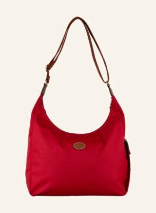 Longchamp Pliage Hobo-Bag Damen, Rot