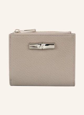 Longchamp Roseau Geldbörse Damen, Grau