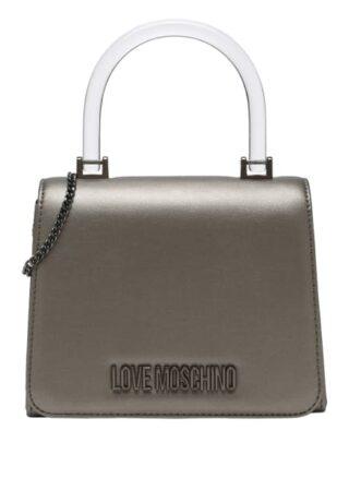 Love Moschino Clutch Damen, Silber