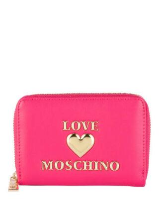 Love Moschino Geldbörse Damen, Pink
