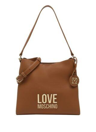 Love Moschino Handtasche Damen, Beige