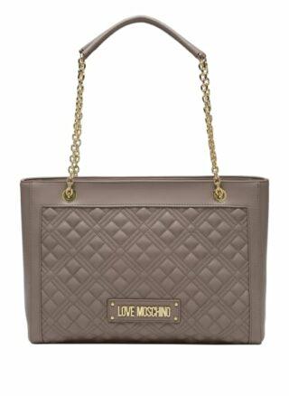 Love Moschino Handtasche Damen, Grau