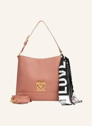 Love Moschino Schultertasche Damen, Pink