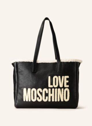 Love Moschino Shopper Damen, Schwarz