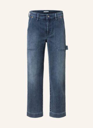 MAC DAYDREAM Jeans-Culotte Damen, Blau
