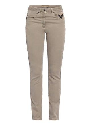 MARC AUREL Slim Fit Jeans Damen, Grün