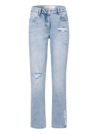 MARC AUREL Straight Leg Jeans Damen, Blau