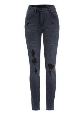 MARC AUREL Straight Leg Jeans Damen, Grau