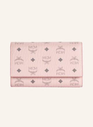 MCM Geldbörse Damen, Pink
