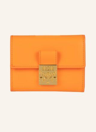 MCM Patricia Mini Geldbörse Damen, Orange