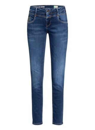 MIRACLE OF DENIM Jeans Rea Regular Fit Jeans Damen, Blau