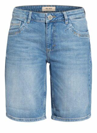 MOS MOSH Ava Jeans-Shorts Damen, Blau