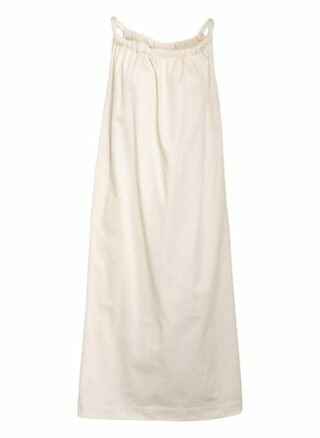 MYMARINI Strandkleid Damen, Weiß