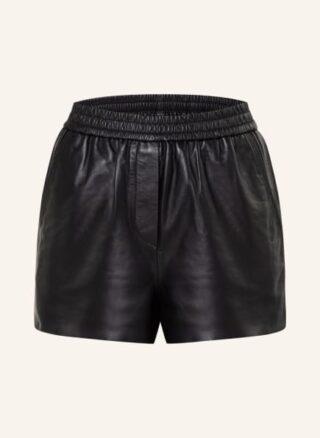 Maje Icono Shorts Damen, Schwarz