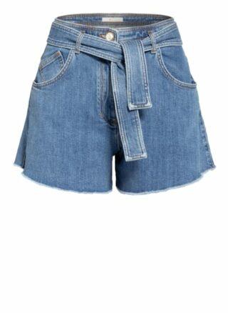 Maje Jeans-Shorts Damen, Blau